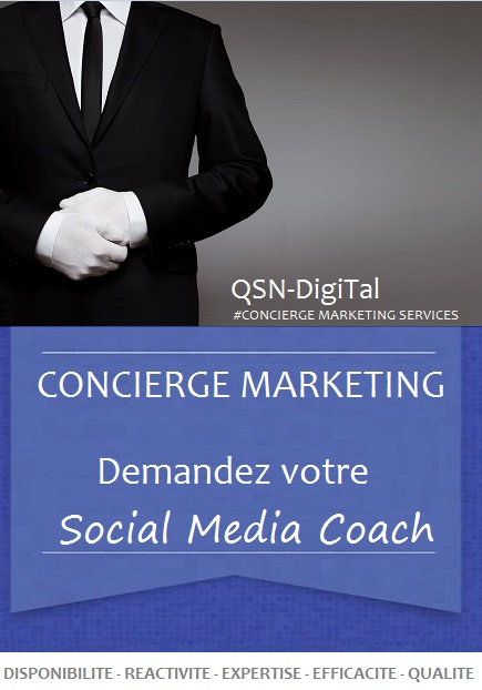 #CONCIERGE MARKETING SERVICES par QSN-DigiTal