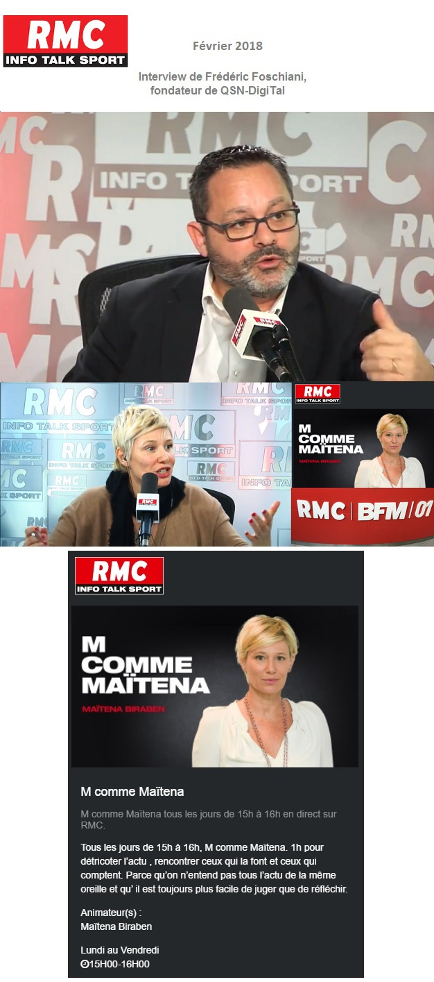 RMC_Interview Frederic Foschiani_QSN-DigiTal_8fevrier2018