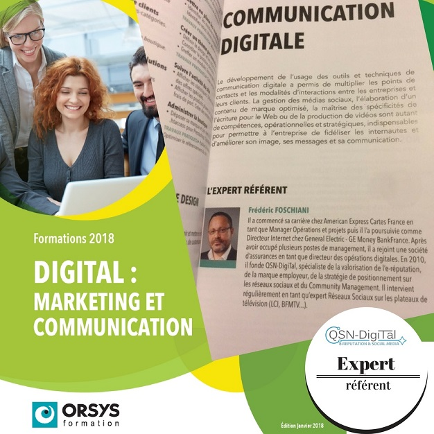 Frederic Foschiani Expert referent orsys